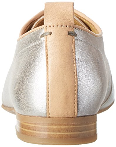 Marc O'Polo 70114063401305 Lace Up, Derby femme Argenté