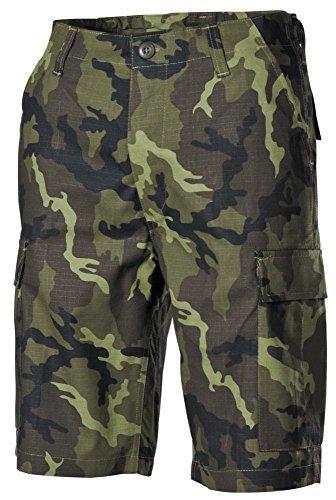 Camo Army Cargo Bdu Shorts (US Army BDU Cargo Bermuda Rip Stop CZ tarn S-XXL S,CZ tarn)