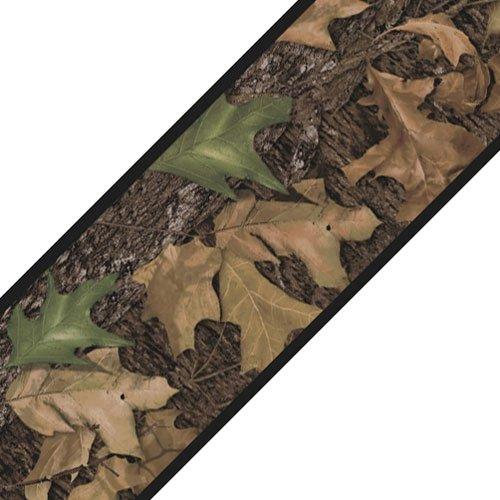 Mossy Oak Camo Leaves Set 4Stück selbstklebend Wand Grenzen -