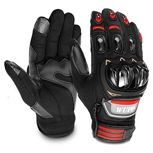GESPERT Motorradhandschuhe, Motorrad Handschuh für Herren und Damen,Fitness Handschuhe Touchscreen Handschuhe für Outdoor,Fahrrad Radfahren,Airsoft Militär,Sport und so weiter,Palmumfang L 21-22cm