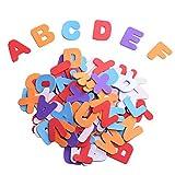 Selbstklebenden Schaumstoff Aufkleber Buchstaben, Verschiedene Farebn, 104 Stück