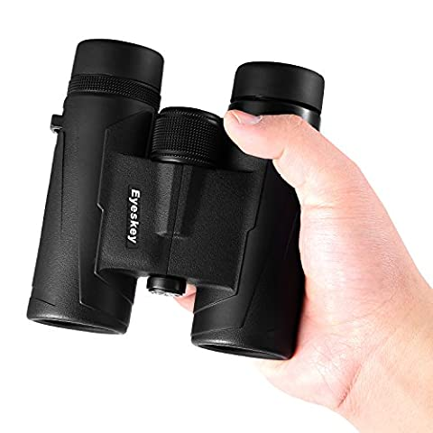 [Upgraded] Eyeskey Compact 8X32 Professional Binoculars - Lightweight and Easy to Carry - With Carrying Case, Neck