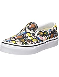 vans shoes for girls. vans unisex kids\u0027 peanuts classic slip-on trainers shoes for girls