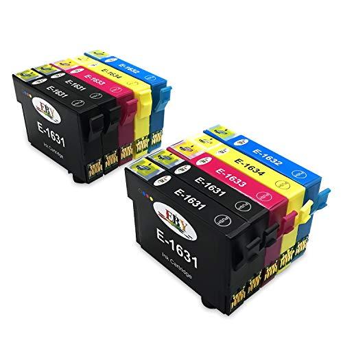 EBY 16XL Druckerpatronen Ersatz für Epson 16 Tintenpatronen Kompatibel mit Epson Workforce WF-2630 WF-2660 WF-2760 WF-2510 WF-2750 WF-2540 WF-2530 WF-2010 WF-2650