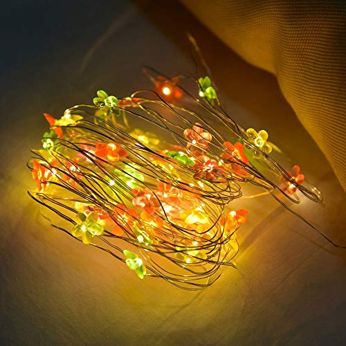Mini Blume Fairy Light Xmas Led Lichterketten Tree Decor Lampe Geeignet Für Schlafzimmer Wohnzimmer Weihnachtsbaum Hochzeit Garten Party Indoor Und Outdoor
