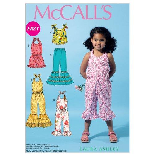 McCall's Patterns M6544 Children's/Girls' Top