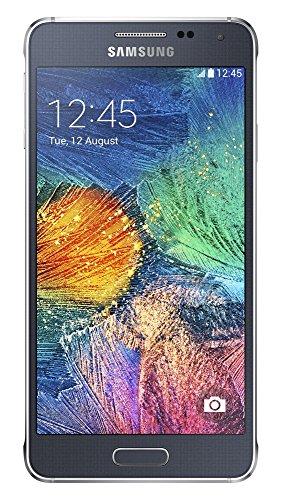 Samsung Galaxy Alpha Smartphone, SIM Smartphone-Parent, schwarz, 32 GB