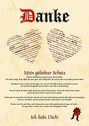 Liebeserklärung - Geschenkidee Valentinstag Mann Frau - Bild Geschenk Geburtstag Jahrestag Hochzeitstag - Ich Liebe Dich - Vornamen Bild