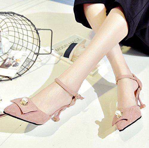 RUGAI-UE Estate sandali Tacchi Alti Calzature Donna Pink