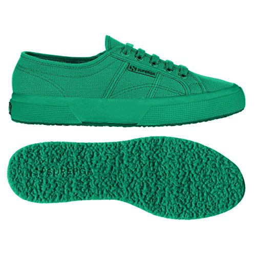 Superga Cotu Classic, Baskets Basses Mixte Adulte TOTAL INTENSE GREEN