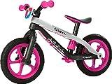 Chillafish BMXie-RS Bicicleta de Aprendizaje, Unisex niños, Rosa, Única