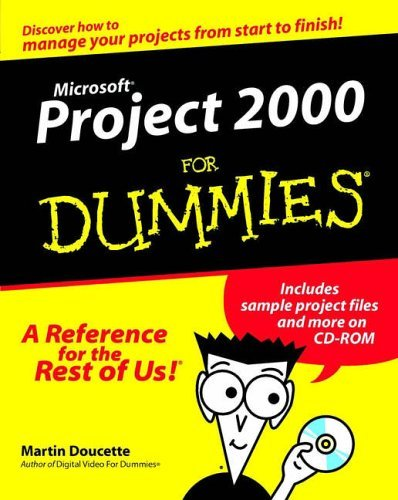 Microsoft Project 2000 For Dummies by Martin Doucette (2000-04-03) par Martin Doucette