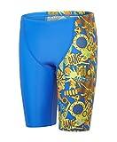 Speedo Jungen Ignition Flareallover V Cut Panel Jammer Swimwear, Bondi/Jaffa/Lime Punch, 152
