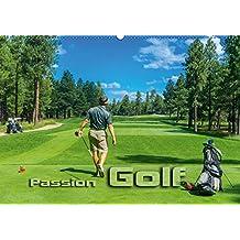 Passion Golf (Wandkalender 2018 DIN A2 quer): Stimmungsvolle Impressionen aus der Welt des Golfsports (Monatskalender, 14 Seiten )