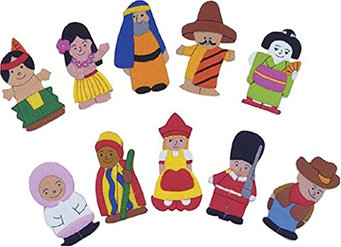 People of the World (Series 2) Finger Puppets