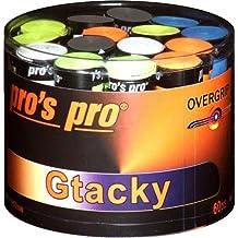 60 Overgrip Gtacky cintas de colores atacados