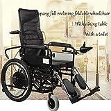 Elektrischer Rollstuhl älterer behinderter Autoälterer intelligenter automatischer tragbarer Roller Multifunktionsfalte