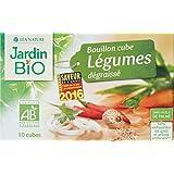 Jardin Bio Bouillon Cube Légumes Dégraissé 90 g - Lot de 6