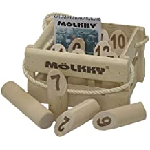 Mölkky - 52501 - Jeu de Plein Air - Mölkky version luxe