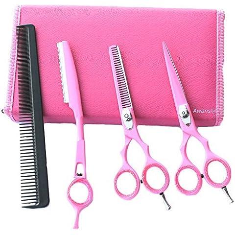 Tijeras de peluquería, barbería, salón de belleza, tijeras de esculpir, set de cuchillas de esculpir 5.5