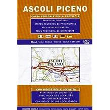 Ascoli Piceno Provincial Road Map (1:150, 000)