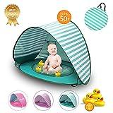 Kirakira Tenda Spiaggia Bambini tenda da Spiaggia Sun Shelter portatile Bambini Pop Up Tenda Con Mini Piscina 50 + protezione UV UPF