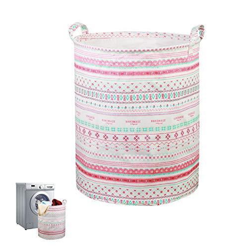 cesto juguetes infantil KAKOO cesto juguetes almacenaje de cesto plegable ropa sucia del material impermeable para guardarlo juguetes en habitación o baño