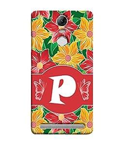 PrintVisa Designer Back Case Cover for Lenovo K5 Note :: Lenovo Vibe K5 Note Pro (Alphabet Love Word Love Birthday Gift)