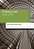 Abbey, R: Property Law 2018-2019 (Legal Practice Course Manuals) - Robert Abbey, Mark Richards