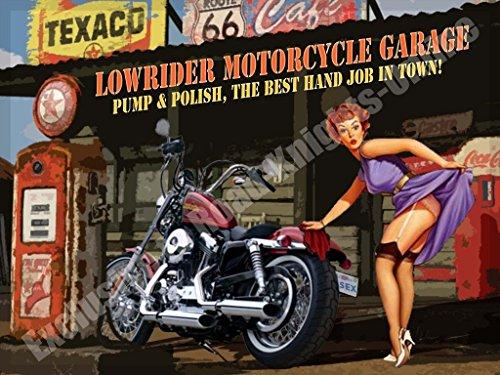Lowrider Moto Garage, Harley Davidson Chopper Pompa