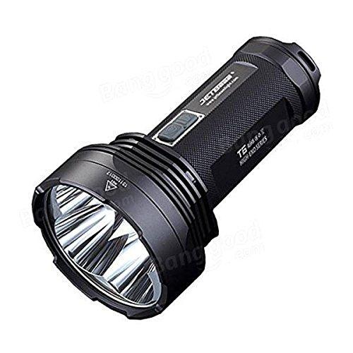 Global JETBeam T6 4xXp-l-haute puissance 4350LM 18650 Camping Outdooors LED lampe de poche