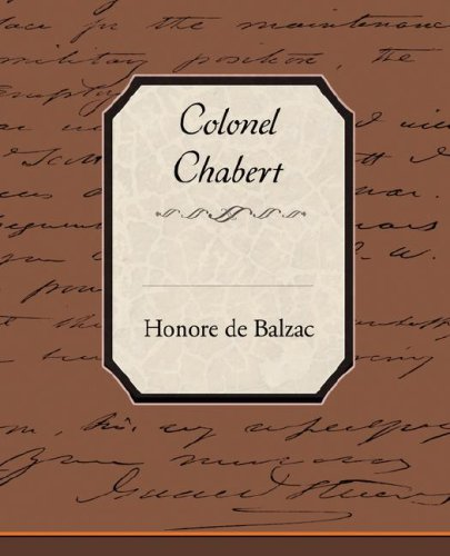 Colonel Chabert Cover Image