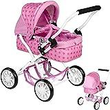 Mein erster Puppenwagen Smarty Sternchen (Rosa-Pink)