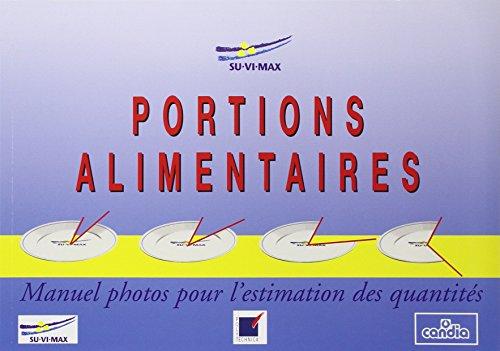 Portions alimentaires : Manuel photos pour l'estimation des quantités