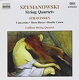 Streichquartette von Szymanowski und Strawinsky