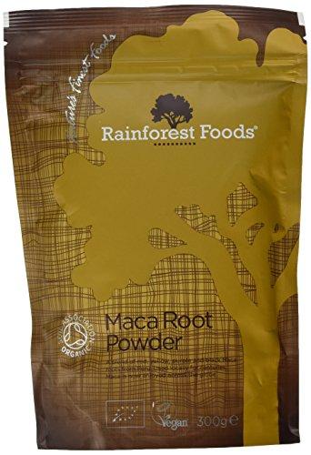 Rainforest Foods Poudre de 4 Racines de Maca 300 g Bio Lot de 2