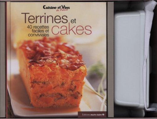 Coffrets terrines et cakes