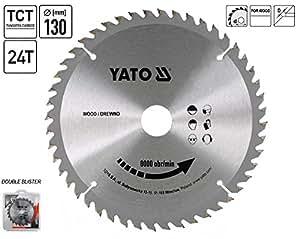Yato yt-6050–TCT Sägeblatt-Holz 130x 24x 16mm