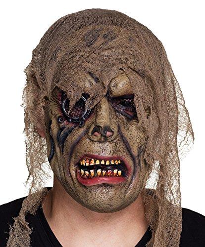 Boland 97541 - Latex Maske Horror Pirat, Sonstige Spielwaren
