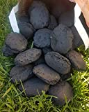Mirtux - 15 kgrs de Briquetas de Carbon Vegetal. Origen España. Ideal para Barbacoa (Mejor Que carbón): Alto Rendimiento, rápido Encendido, Aroma Neutro. 5 Sacos de 3 kgrs
