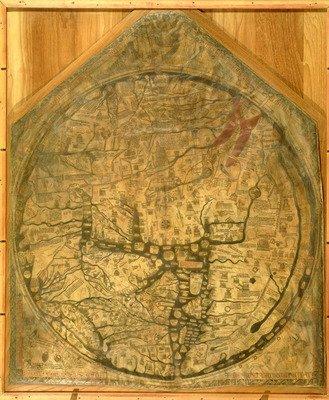 mappa-mundi-c1290-vellum-by-richard-of-art-print-medium-28x35cm