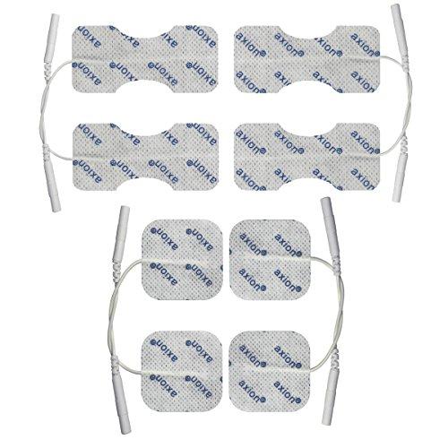 Elektroden-Set zur TENS-Behandlung von Arthrose und Schmerzen in Finger und Handgelenk, 8 Stück -