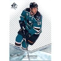 2011 /12 Upper Deck SP Authentic Hockey Card #103 Joe Thornton