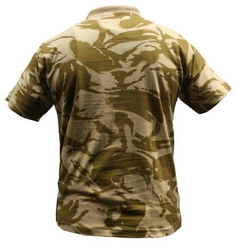 Dallaswear Herren T-Shirt, Camouflage, Militär-Design, Größen S-3XL - - British Desert - xl (Desert Herren T-shirt Camo)