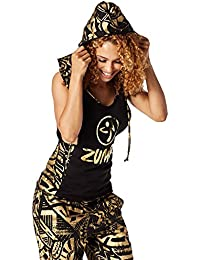 Zumba Fitness Makes Me Shine Support à capuche Top