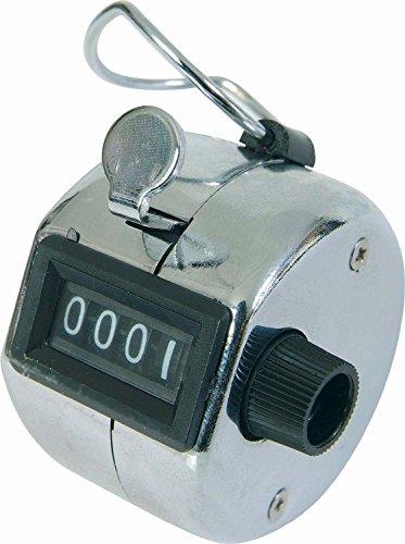 Reihe machen 4Digit Hand Held Tally Counter Clicker Manuelle mechanische W/FINGER RING (Clicker Für Die Zählung)