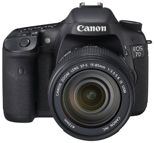 Canon EOS 7D SLR-Digitalkamera (18 MP, 7,6cm (3 Zoll) LCD-Display, Live-View, Full-HD Movie, Kit inkl. EF-S 18-135mm IS Lens) schwarz Canon Ifc-200u Usb