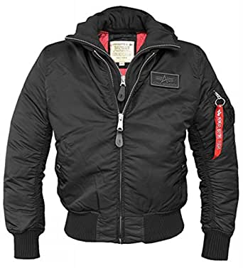 alpha industries ma 1 d tec hooded flight jacket. Black Bedroom Furniture Sets. Home Design Ideas
