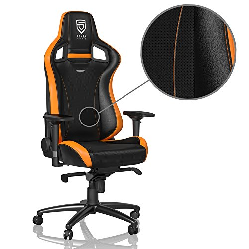 noblechairs EPIC - PENTA Sports Edition - schwarz/orange