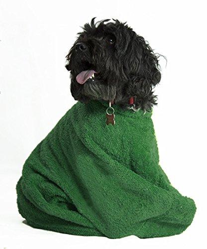 TowelsRus rizo perro bolsa disponible en 4 colores, chocolate, verde,...
